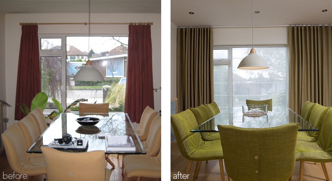 window dressing before and after
