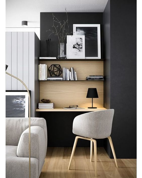 home office design for small spaces